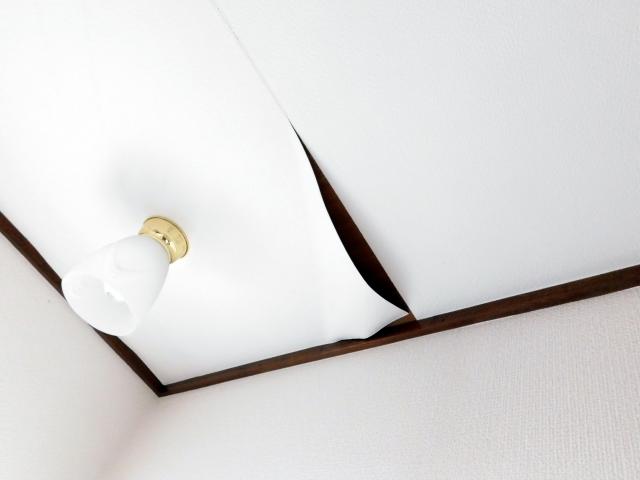天井張り替え・群馬県のアパートマンションリフォーム