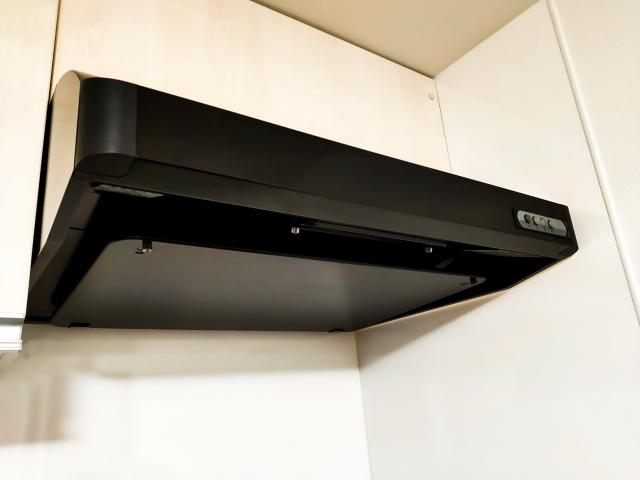 台所換気扇交換・群馬県のアパートマンションリフォーム