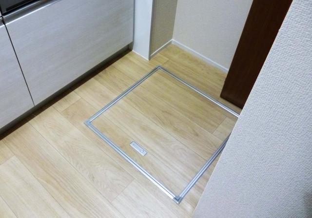 床下収納・群馬県のアパートマンションリフォーム